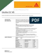 Ficha tecnica sikaflex 2c ns