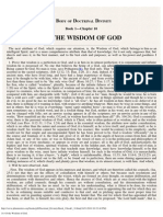10. of the Wisdom of God.