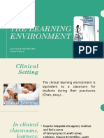Report The Learning Environment Presentation.pptx