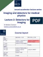 Lecture 2 Detectors (1)