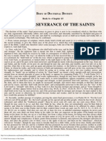 15. of the Perseverance of the Saints.