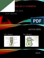 Motor Diésel de 2 y 4 Tiempos