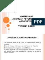 Normas en APA