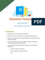 BH_ Interview Transcript