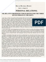 28. of the Personal Relations; Or, Relative Properties Which Distinguish The