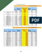 Brokerage Sheet