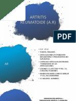 ARTRITIS REUMATOIDE (AnDONI)