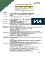 Date sheet puchd 2019