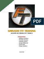 Gimnasio Fit Training 1