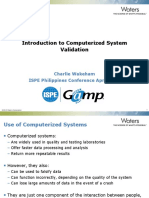 1 - Introduction to Computerized Systems Validation - for review.pptx