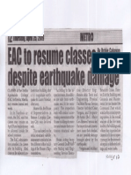 Peoples Journal, Apr. 25, 2019, EAC to resume classes despite earthquake damage.pdf