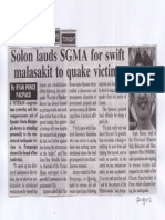 Peoples Tonight, Apr. 25, 2019, Solon lauds SGMA for swift malasakit to quake victims.pdf