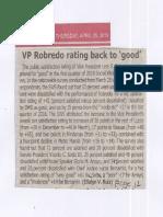 Tempo, Apr. 25, 2019, VP Robredo rating back to good.pdf