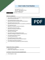 Modelo C.V. Plantilla Para Investigadores y Docentes