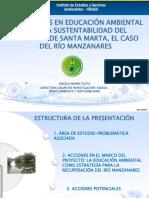 Rio Manzanares, Recorrido e Importancia.