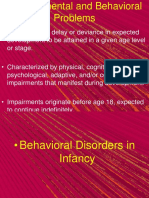 02 Behavioral Dev Problems