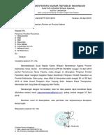 Surat Rakor Pimpontren 2019