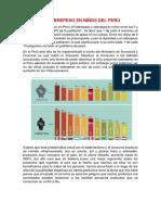 El Sobrepeso en Niños Del Perú
