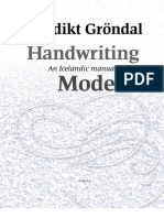 Handwriting Models