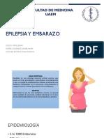 Epilepsia durante el embarazo