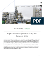 Biogas Utilization Systems and H_sub_2__sub_S Bio-Scrubber Units _ Green Energy Network