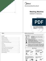 MFW-801S Instruction Manual