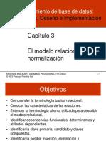 Cap. 3 Procesamiento BD, Fundamentos, Diseño e Implementación 11va. Ed. (Kroenke) 2010 PPH