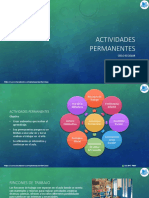 4.- Actividades Permanentes (Ciclo Escolar)
