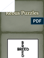 15 Rebus Puzzles