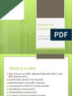 Health Risk Assesment
