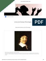 Linea de Tiempo Psicologia. _ Sutori