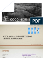 mechanical properties of dental materials