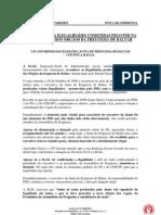 IGAL CONFIRMA ILEGALIDADES COMETIDAS PELO PSD NA INSTALAÇÃO DOS ÓRGÃOS DA FREGUESIA DE BALTAR