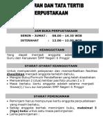Administrasi Perpustakaan Sekolah -Tata Tertib.docx