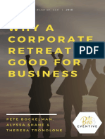 Why a Corporate Retreat is Good for Business Ebookv2