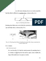 Punching shear design notes