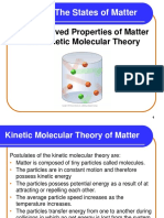 6 1 and 6 2 Matter and Kinetic Mole Theory
