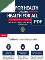 Philippine Health Agenda 2016-2022
