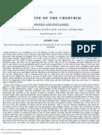 73. the Doctrine of the Cherubim