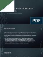 Liquidos y Electrolitos en Anestesia