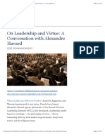 On Leadership and Virtue_ a Conversation With Alexandre Havard - Crisis Magazine