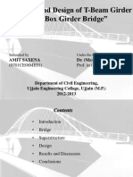 seminar =Analysis-and-Design-of-T-Beam-Girder-and-Box-Girder-Superstructure