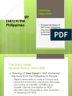 Lect#2 S & T History in the Philippines