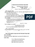 Đề thi giữa kì 2 lớp 8 môn Văn THCS Bách Thuận 2019.pdf
