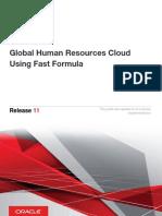 Oracle Cloud Fast Formulas Release 13