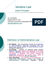 Administrative Law by v s Deshpande