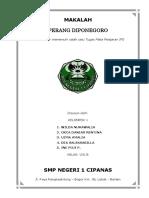 MAKALAH_PERANG_DIPONEGORO