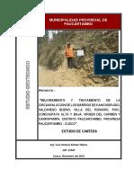 ESTUDIO CANTERAS PAUCARTAMBO