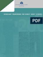 Oversight Framework Direct Debit Schemes En