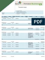 Rekening Koran Permata IDR